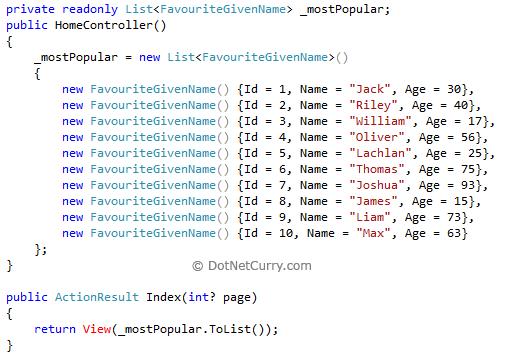 Efficient Paging with WebGrid Web Helper - ASP NET MVC 3 RC