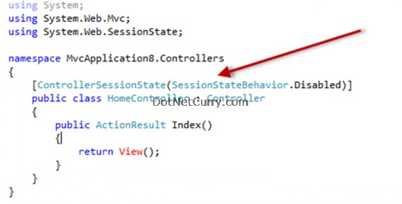 MVC Sessionless Controller