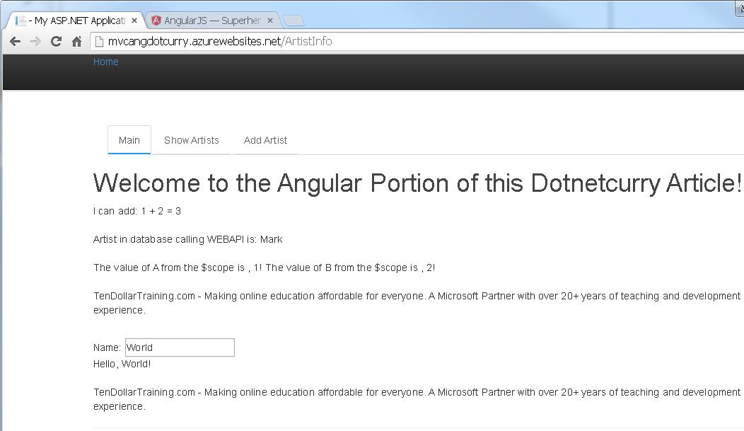 angular-mvc