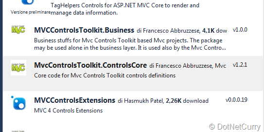 Full stack development with ASP NET MVC Controls Toolkit