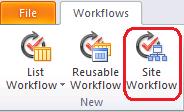 Sharepoint Site Workflow