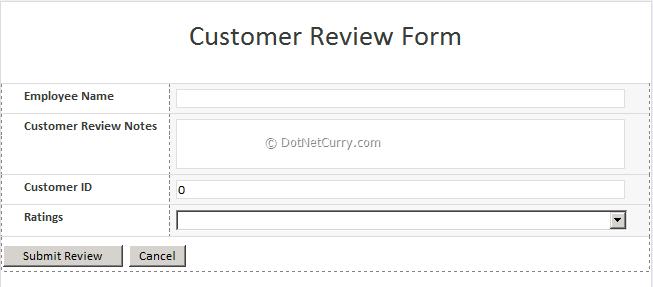 Infopath 2010 Form
