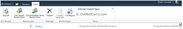 SharePoint BCS Model Permission