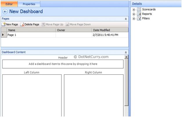 Sharepoint Dashboard