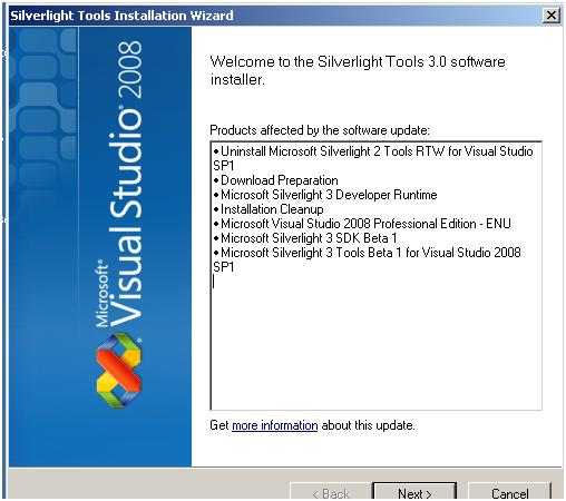 silverlight developer runtime for visual studio 2015 download