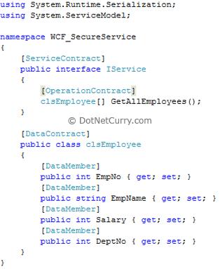 WCF IService