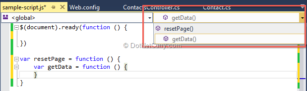 js-document-outline