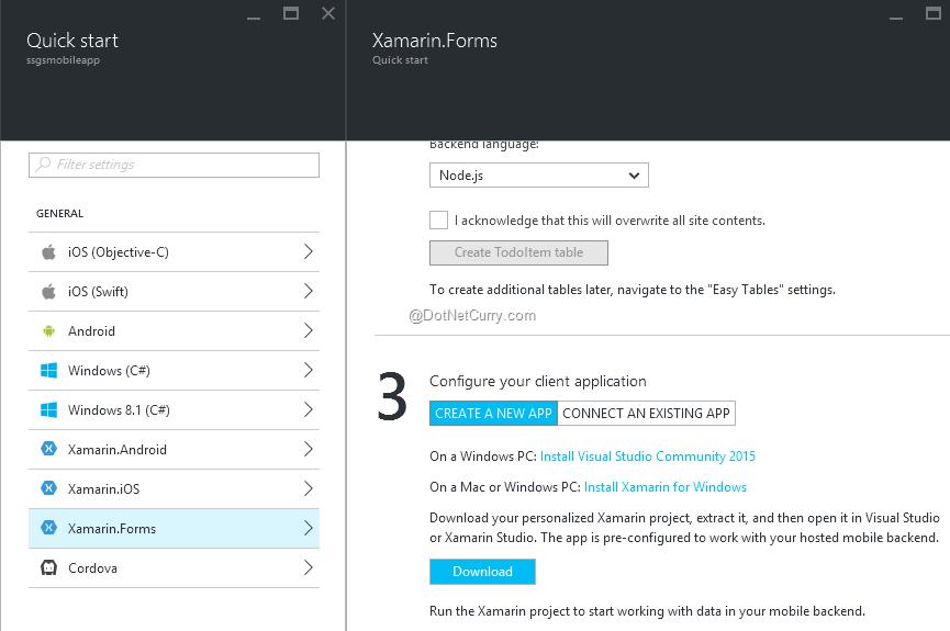 create-download-client-app