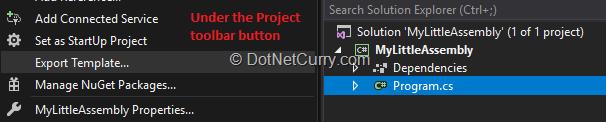 export-template