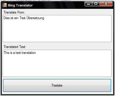 BingTranslator
