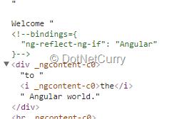 angular-html-output