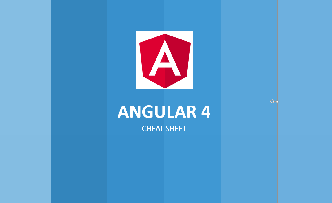 Angular 4 Development Cheat Sheet | DotNetCurry
