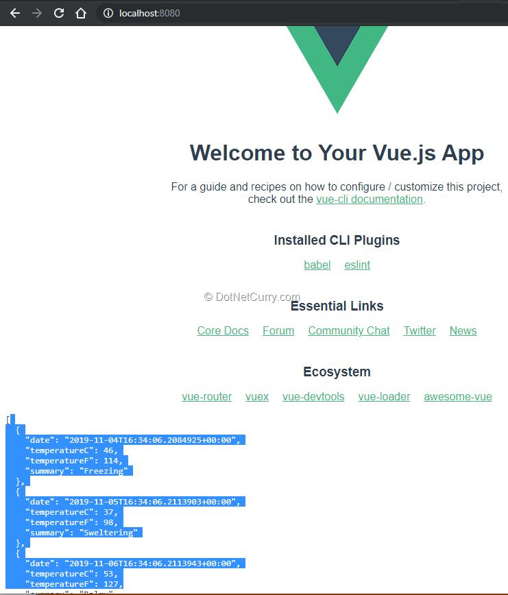 vuejs-app-with-proxy