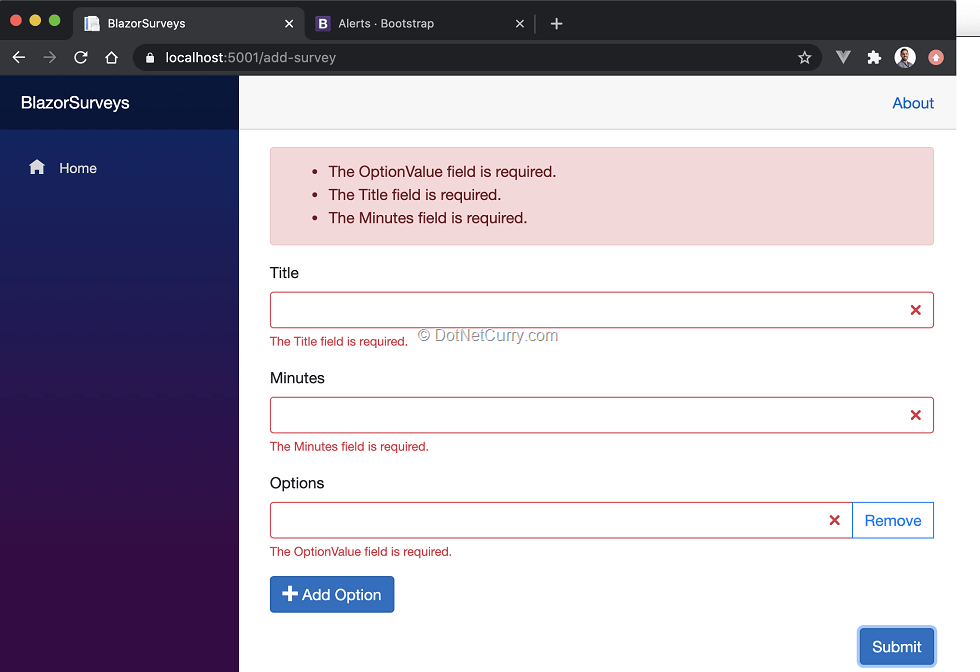 bootstrap-styled-validation