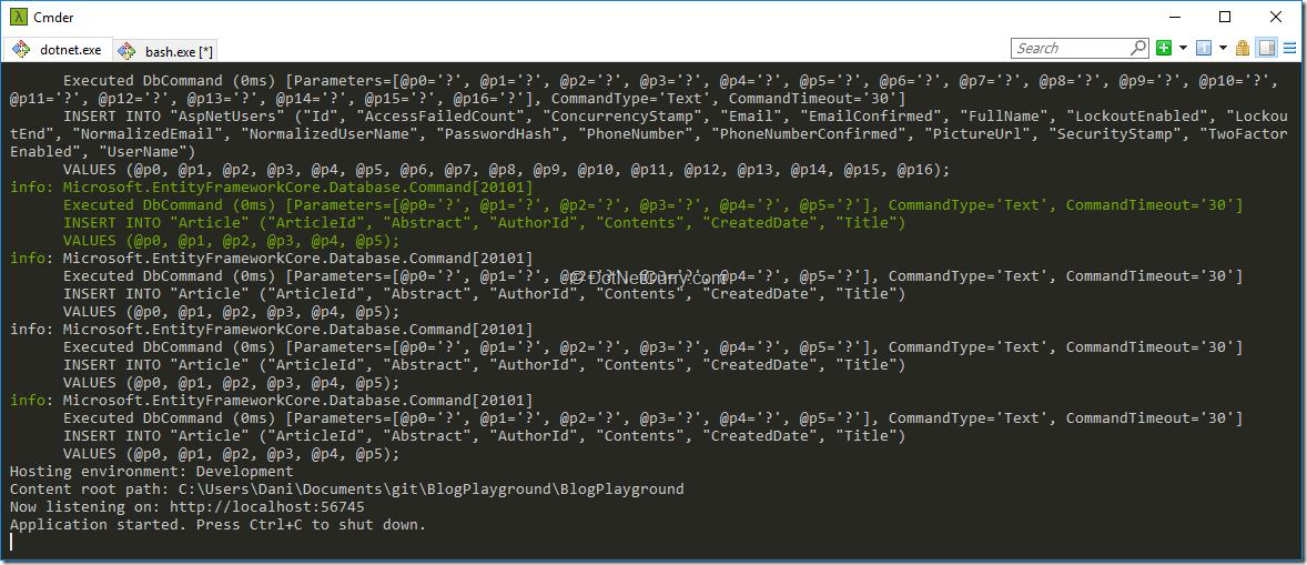 End-to-End (E2E) Testing of ASP NET Core Applications using