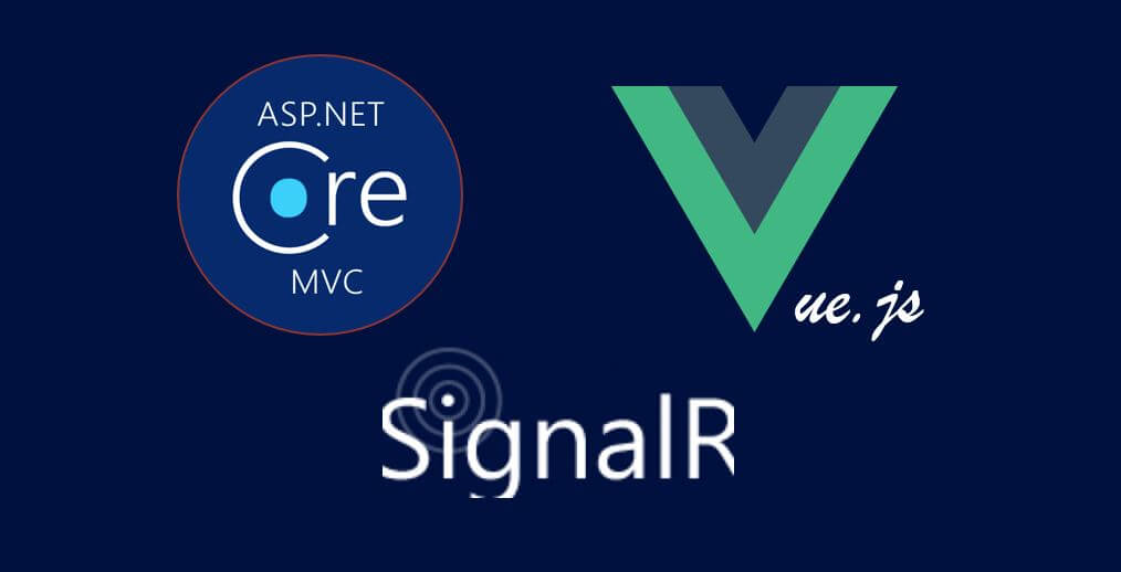 Using ASP NET Core SignalR with Vue js (to create a mini Stack