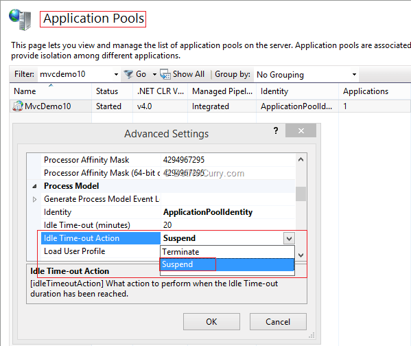 Monitor Iis Application Pool Status