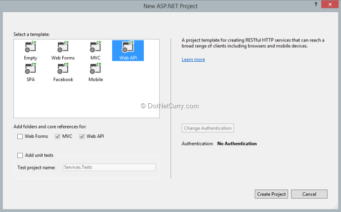 new-web-api-project