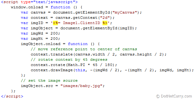 html5 canvas Rotate