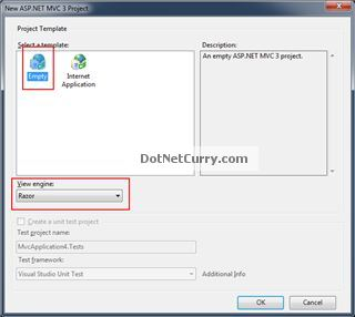 ASP.NET MVC3 Beta Dialog