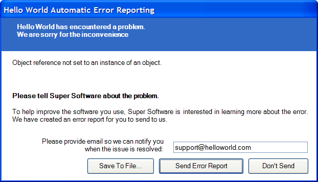 exception_reporting