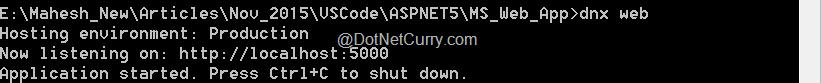 aspnet5-hosting