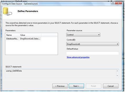 Configure DS Step 2