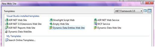 Create an ASP.NET Dynamic Data Website Using ADO.NET Entity ...
