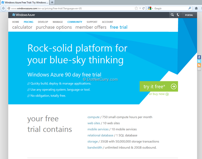 azure-signup-page