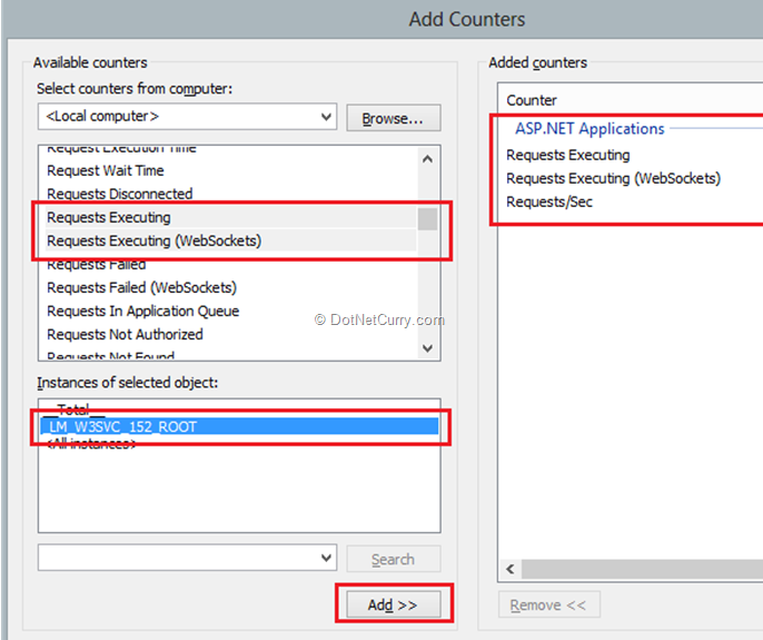 asp-net-performance-counters