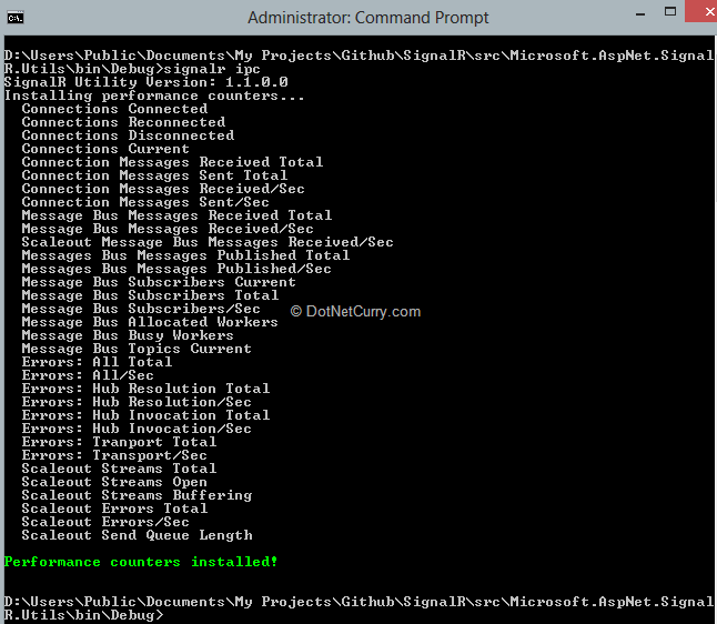 install-signalr-perf-counters