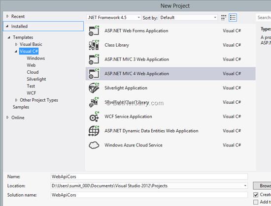ASP NET Web API 2 0 Cross Origin Resource Sharing support