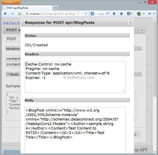 ASP NET Web API 2 0 Cross Origin Resource Sharing support | DotNetCurry