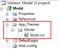 Using the ASP NET AJAX ModalPopup in an ASP NET 3 5
