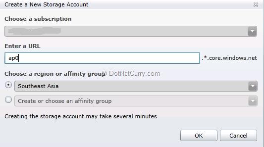 new-storage-account