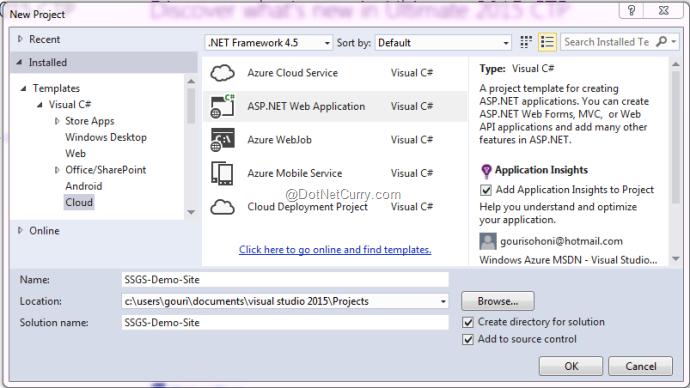 create-cloud-project-vs