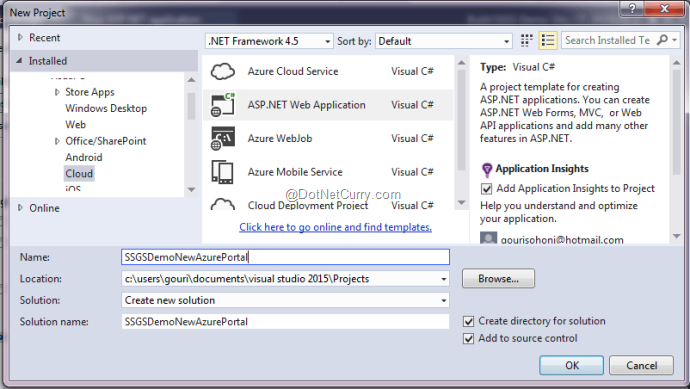 new-azure-web-stie