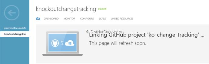 azure-linking-github