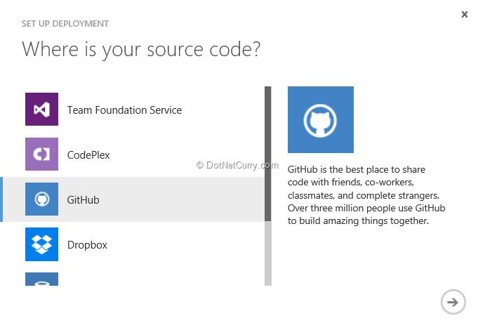 select-github-source-control