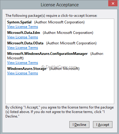azure-storage-license-agreement