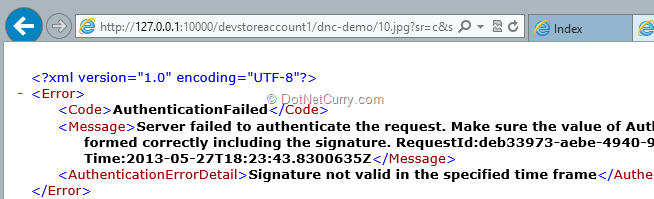 sas-error-message