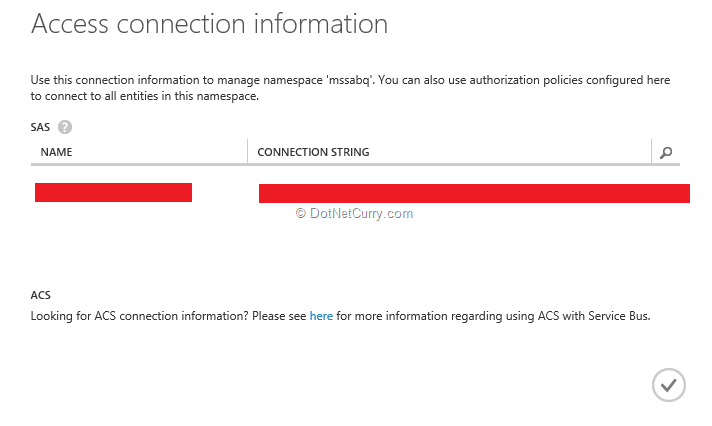 access-connection-info