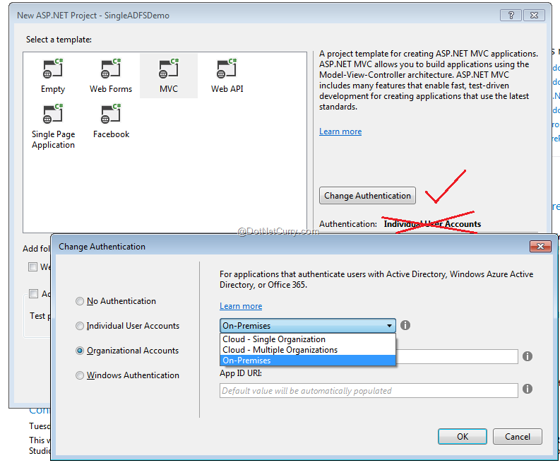 test azure active directory