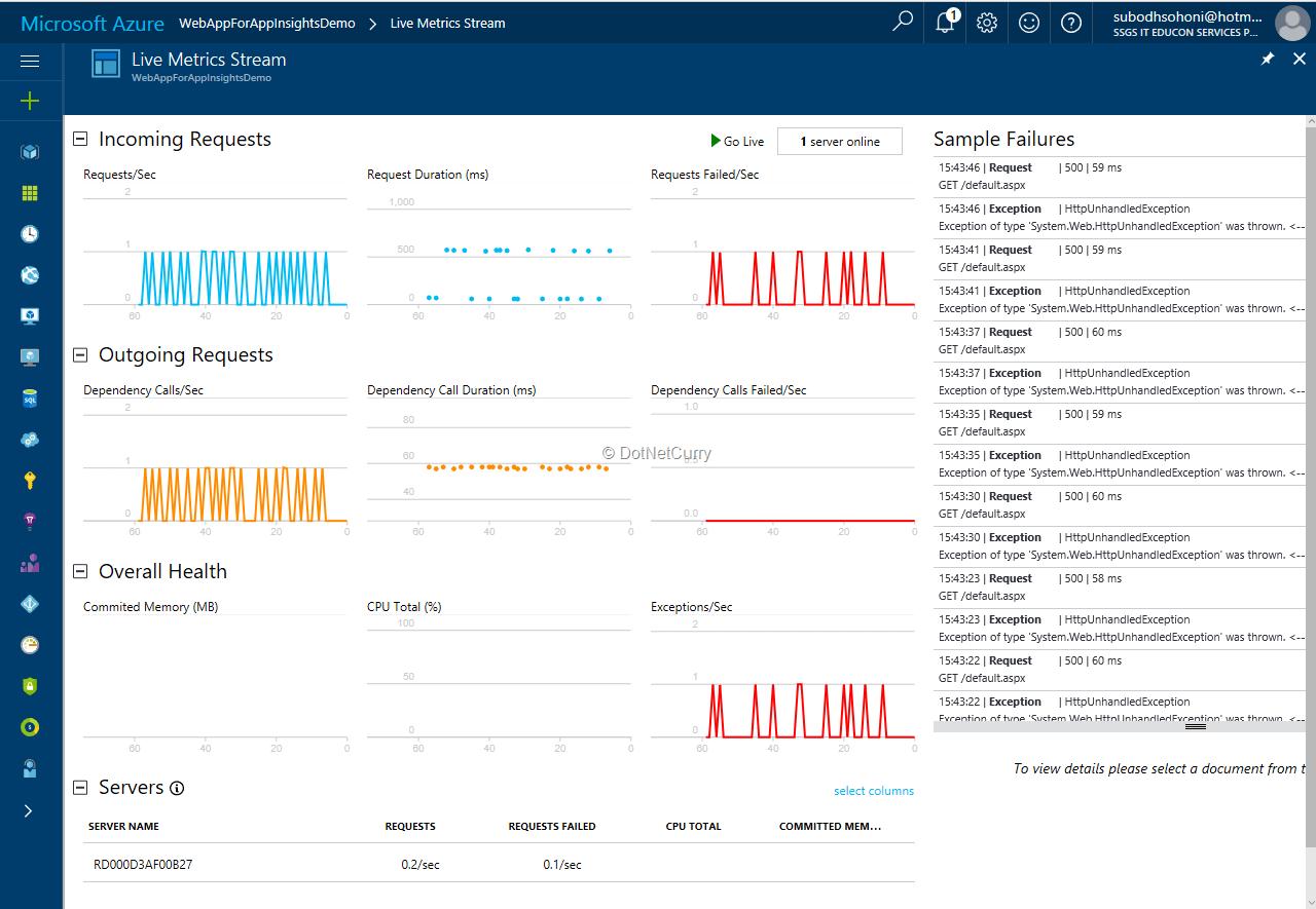 live-metrics-stream