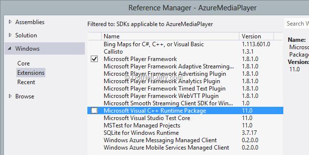 player-framework