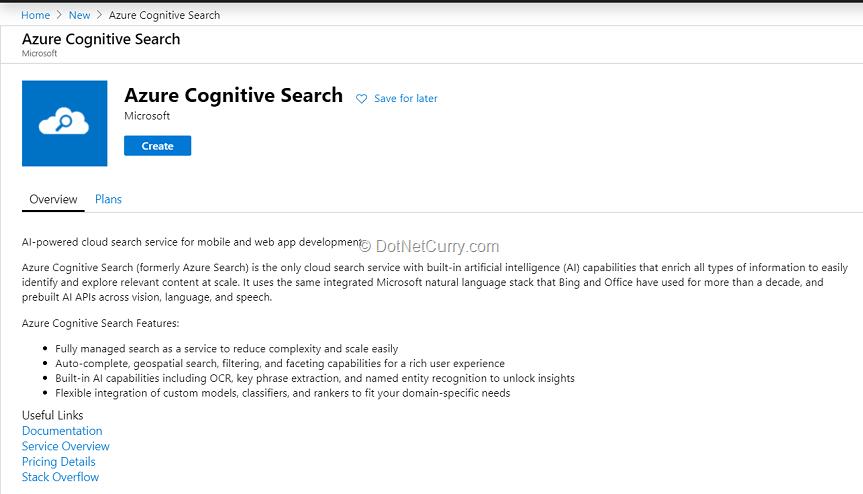create-azure-cognitive-search