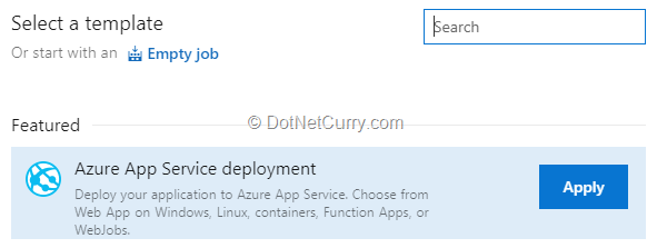 azure-app-service-deployment-release-pipeline-template