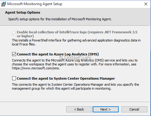 Log Analytics (OMS) in Microsoft Azure | DotNetCurry