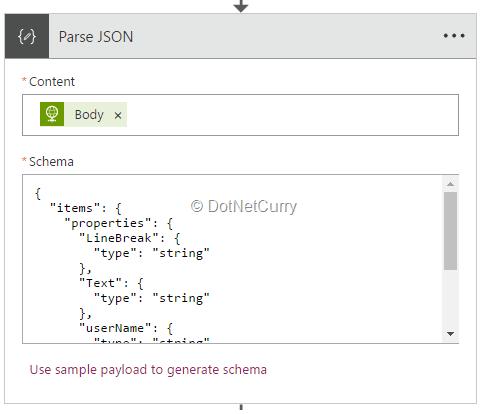 set-json-parameters