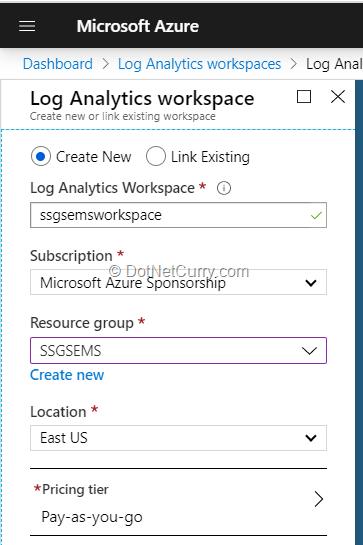 create-log-analytics-workspace